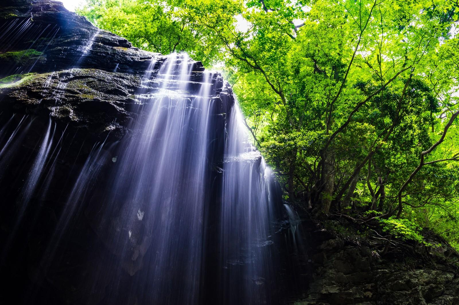 岡山県岩井滝